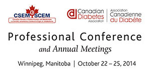Canadian Associations Host 17th Professional Conference on Diabetes